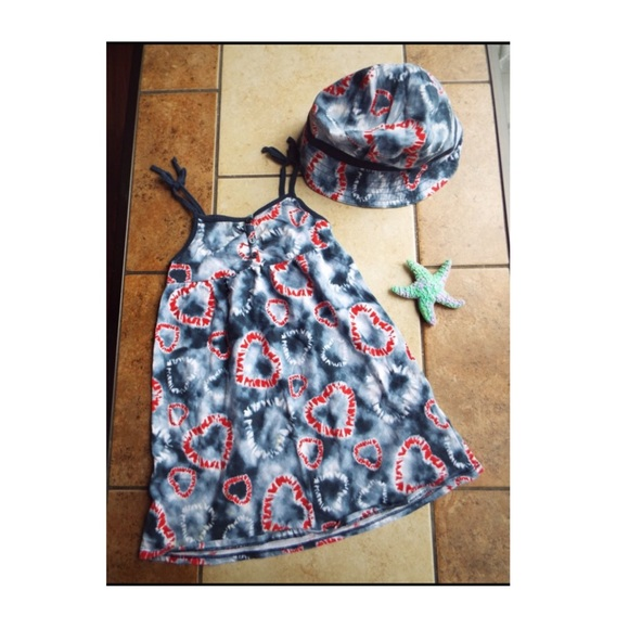 Faded Glory Other - Summers dress & hat